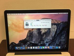MacBook Pro 2015 Early Retina Display 2 Thunderbolt for Sale in Vienna, VA