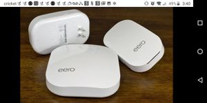Eero home wifi system for Sale in El Cajon, CA