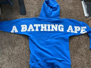Bathing Ape, World Gone Mad hoodie. for Sale in Woodinville, WA
