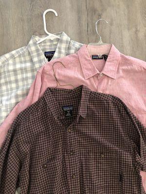 Men's Patagonia shirts for Sale in Menifee, CA