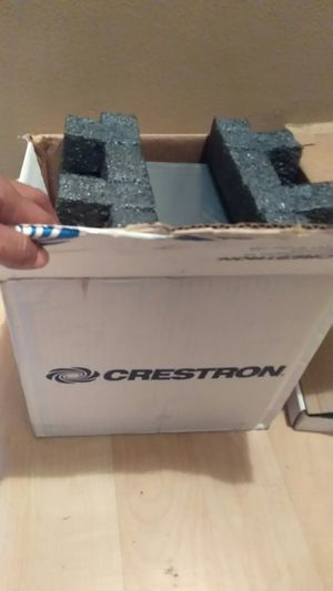 Crestron flip top touch screen car stereo system for Sale in Detroit, MI
