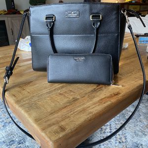 Kate Spade Purse And Slim Zippy Wallet for Sale in Reston, VA