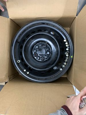 Wheels - rims - 2017 stock Subaru Impreza wheels - brand new - only on car for 3 days for Sale in Tempe, AZ