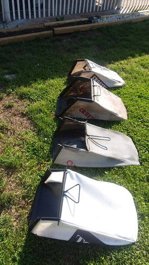 Stanley lawn mower bag $25 each for Sale in St. Louis, MO