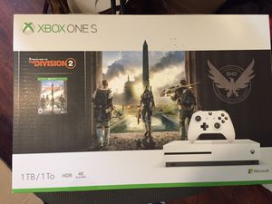 Xbox one s with division 2 for Sale in Atlanta, GA