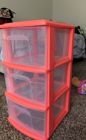 Plastic drawers for Sale in San Antonio, TX