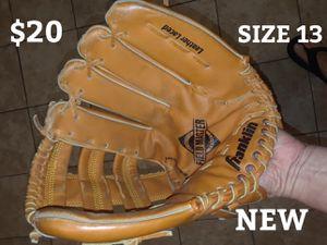 NEW BASEBALL GLOVE /SIZE 13..$20 for Sale in Las Vegas, NV