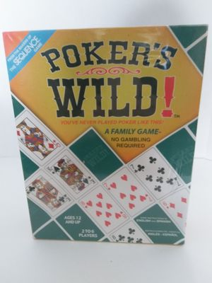 Poker's Wild Board Game for Sale in Englewood, FL