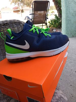 Nike Air Max S. Seahawks shoe size 9.5 men for Sale in Downey, CA