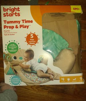 Bright starts tummy time prop & play for Sale in Newton, IA
