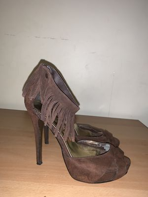 Charlotte Russe Brown Suede Heels for Sale in Norwalk, CT