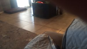 Tv stand free first come for Sale in Perris, CA