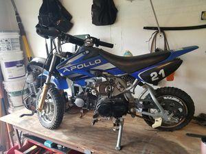 2012 Apollo 70cc DIRT bike $300.00 for Sale in PT CHARLOTTE, FL