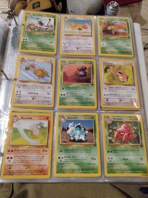 Pokemon Jungle uncommon and common set for Sale in Milton, WA