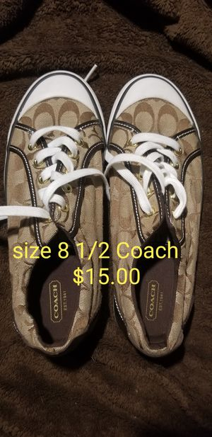 Size 8 1/2 Coach shoes for Sale in Clermont, FL