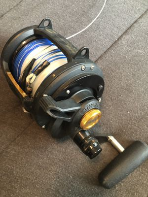 Penn squall 50 wide fishing reel for Sale in Port St. Lucie, FL