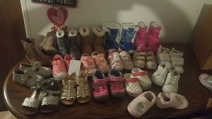 Girls shoes size 5 6 and 7 miscellaneous for Sale in Spokane Valley, WA