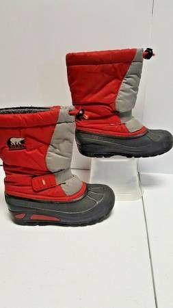 SOREL Snow Storm Kids Winter Snow Boots Children Size 13 for Sale in Boulder, CO