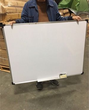 New 47x35 inches dry erase marker writing tutor board with eraser included magnetic for Sale in Whittier, CA