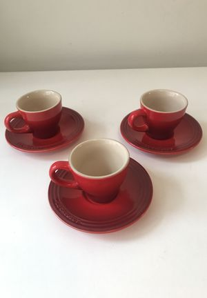 Le creuset espresso mugs for Sale in Washington, DC