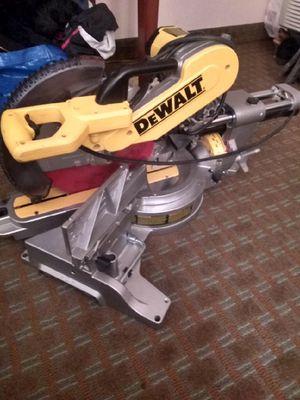 Dewalt miter saw for Sale in Raleigh, NC