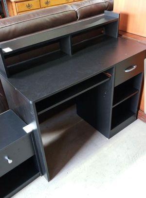 Black IKEA style desk in excellent condition for Sale in La Mesa, CA