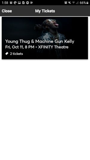 Young Thug and Machine Gun Kelly Tickets This Friday !!! for Sale in Waterbury, CT