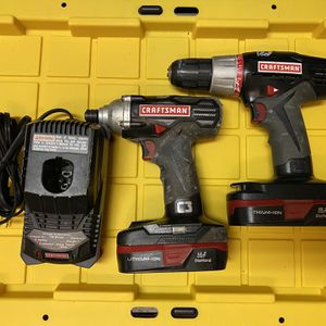 Craftsman Impact Driver And Drill Combo for Sale in Las Vegas, NV