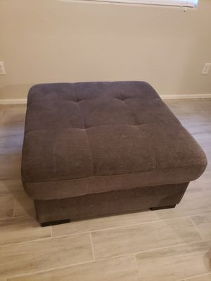 Gray Ottoman with Storage Underneath for Sale in Surprise, AZ