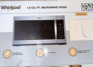 Whirlpool 1.9 CU. FT. microwave hood for Sale in Waianae, HI
