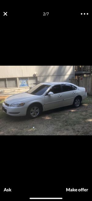 2007 Chevy impala for Sale in Lynnwood, WA