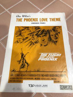 The Phoenix love theme sheet music for Sale in La Habra, CA