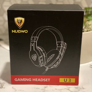 Gaming Headset - Nubwo U3 for Sale in Bend, OR