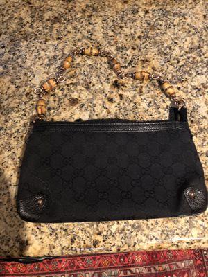 Gucci black canvas shoulder bag for Sale in Nashville, TN