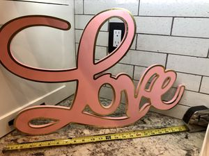 Large wood LIVE sign for Sale in Corona, CA