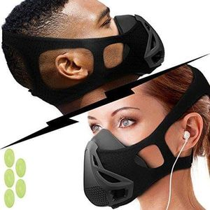 Workout Mask for Training Running Biking Fitness Cardio Endurance Exercise for Sale in Stone Mountain, GA