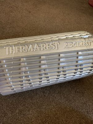Thermarest Ridgerest large (72 inches x 20inches) camping for Sale in San Diego, CA