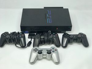 PlayStation 2 w/ 4 Controllers and Controller Port for Sale in Elkridge, MD