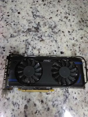 MSI graphics card for Sale in Largo, FL