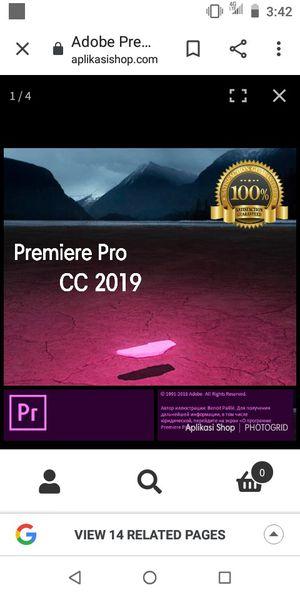 Adobe Premiere Pro 2019 for Sale in Seattle, WA