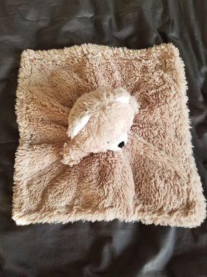 Little Tan Bear Stuffed Lovey Fuzzy Security Blanket for Sale in San Ramon, CA