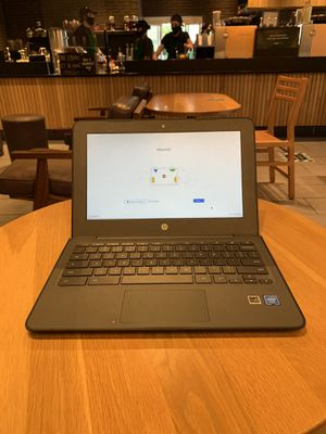 """HP Chromebook 11.6"""" Touchscreen (LIKE NEW) for Sale in Princeton, NC"""