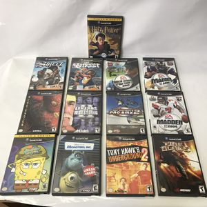 Nintendo gamecube video games lot for Sale in Rockville, MD