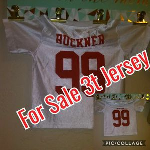 Toddler Jersey for Sale in Modesto, CA