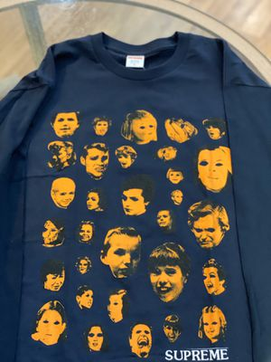 Brand new Navy Supreme Faces Longsleeve size Xlarge for Sale in Kensington, MD