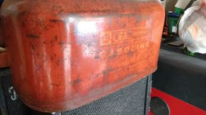 Ratrod outboard motor fuel tank that's been clear coated for Sale in San Antonio, TX