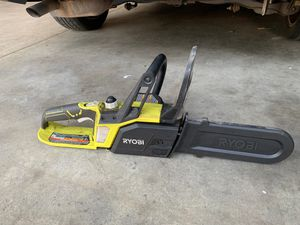 Ryobi P546 10 in. ONE+ 18-Volt Lithium+ Cordless Chainsaw (Tool Only - Battery and Charger NOT Included) for Sale in Riverside, CA