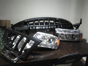 Brand new front grill parts for a 2002 grand jeep Cherokee.Everything you need for the front grill for Sale in Dallas, TX