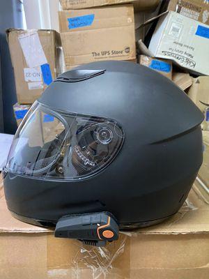 Motorcycle helmet ⛑ MEDIUM w/ Bluetooth! D O T for Sale in Bellflower, CA