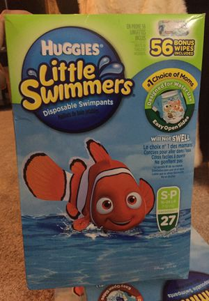 Huggies little swimmers swim pants for Sale in Moorestown, NJ